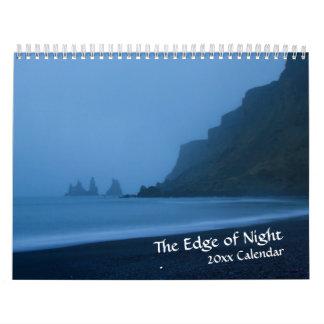 Edge of Night Twilight Calendar