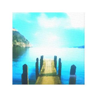 Edge of Nowhere Canvas Print