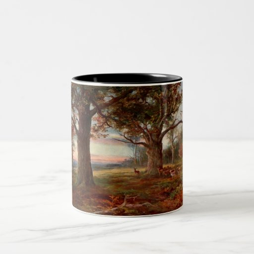 Edge of Sherwood Forest Two-Tone Coffee Mug