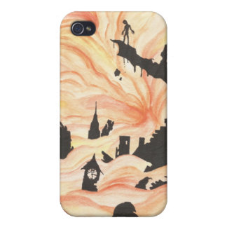 Edge of the Abyss iPhone 4 Cases