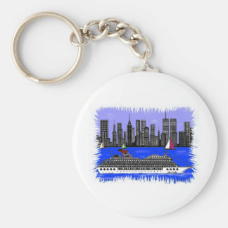 Edge Of The City Accessaries Keychain
