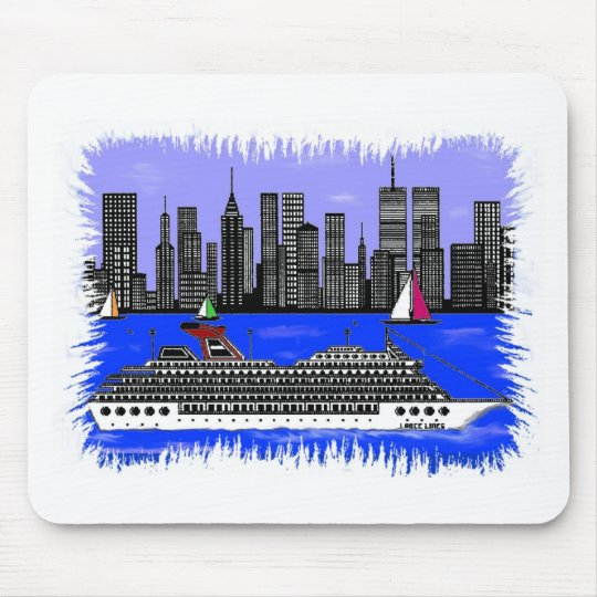 Edge Of The City Accessaries Mouse Pad