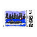 Edge Of The City Postage Stamp