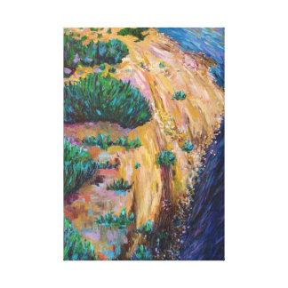 Edge of the Loire Canvas Print