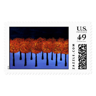 Edge of the Orange Forest Stamp