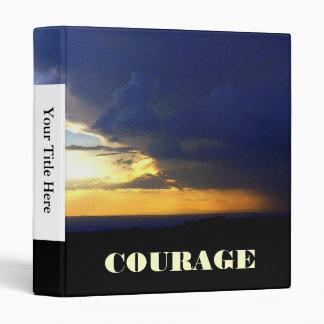 Edge of the Storm COURAGE binder