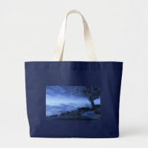 edgeoftheworld, tote, bag, digitalblasphemy, ryanbliss, winter, art, Bag with custom graphic design