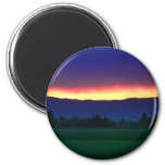 Edge of Town Refrigerator Magnets