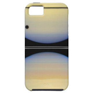 Edge-On View of Saturn's Rings iPhone 5 Case