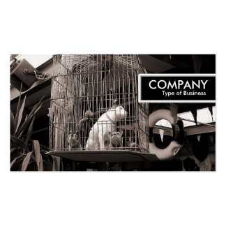 Edge Tag - Caged Beasts Business Card