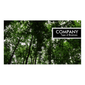 Edge Tag - Woodland Canopy 01 Double-Sided Standard Business Cards (Pack Of 100)