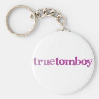 Edge True Tomboy Basic Round Button Keychain