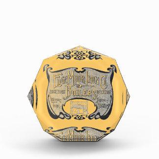 EdgeMoor Iron and Boiler Company 1903 Acrylic Award