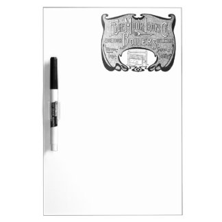 EdgeMoor Iron and Boiler Company 1903 Dry-Erase Boards