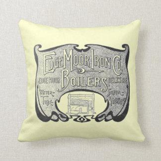 EdgeMoor Iron and Boiler Company 1903 Pillows