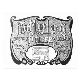 EdgeMoor Iron y Boiler Company 1903 Postales