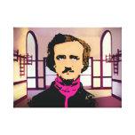 Edger Alan Poe Impresión En Lona
