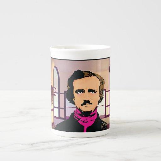 Edger Alan Poe Taza De Porcelana
