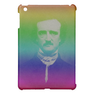 Edger Alan Poe Weird Funny Rainbow iPad Mini Case