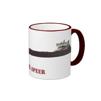 Edger B. Speer Great Lakes Ship Ringer Coffee Mug