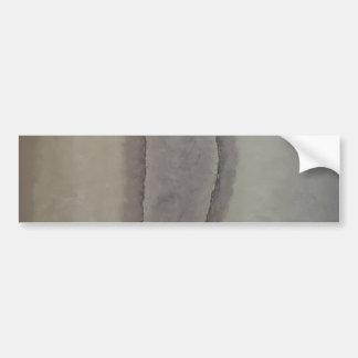 Edges - calm abstraction car bumper sticker