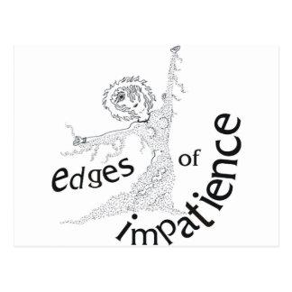Edges of Impatience Postcard