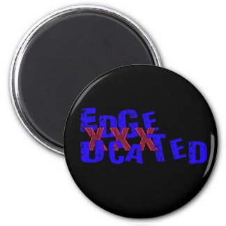 edgeucated 2 inch round magnet