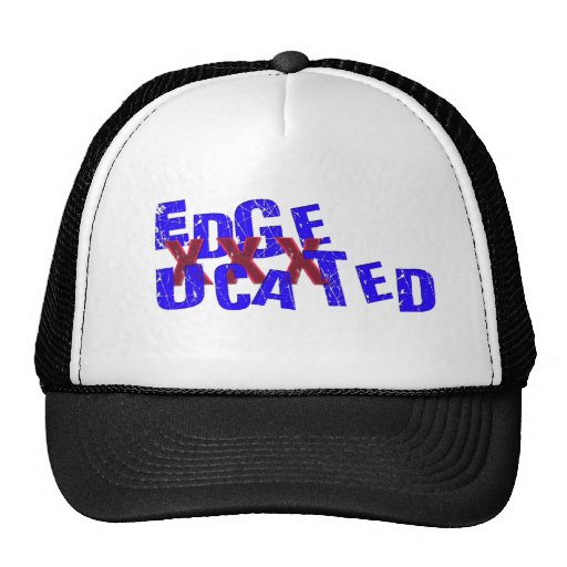edgeucated trucker hat