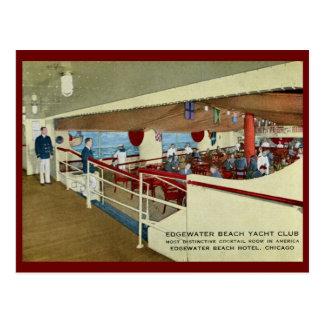 Edgewater Beach Hotel, Chicago Vintage Post Card