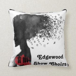 Edgewoo Show Choirs Throw Pillow