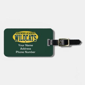 Edgewood Academy; Wildcats Bag Tag