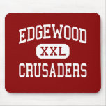Edgewood - cruzados - alto - Madison Wisconsin Tapete De Ratón