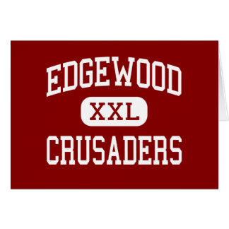 Edgewood - cruzados - alto - Madison Wisconsin Tarjeta