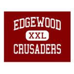 Edgewood - cruzados - alto - Madison Wisconsin Tarjeta Postal