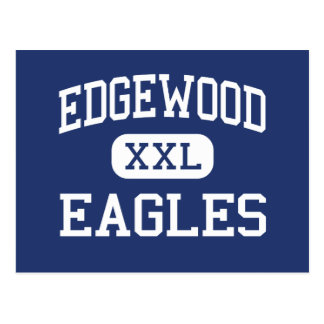Edgewood Eagles Edgewood medio New México Tarjetas Postales