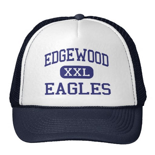 Edgewood Eagles Middle Edgewood New Mexico Trucker Hat