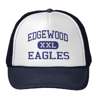 Edgewood Eagles Middle Highland Park Trucker Hat