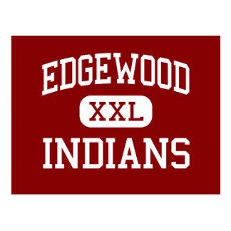 Edgewood - indios - centro - isla de Merritt Postales