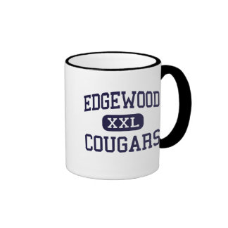 Edgewood - pumas - High School secundaria - Taza De Dos Colores