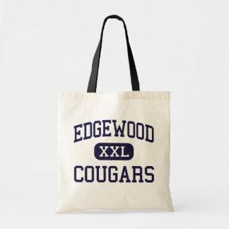 Edgewood - pumas - High School secundaria - Trento Bolsa Tela Barata