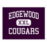 Edgewood - pumas - High School secundaria - Trento Tarjeta Postal