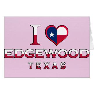 Edgewood, Tejas Tarjetón