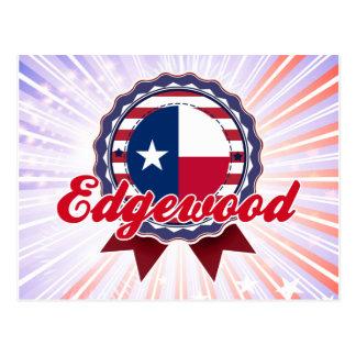 Edgewood, TX Tarjeta Postal
