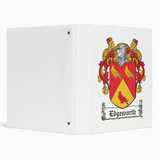 Edgeworth Family Crest 3 Ring Binders