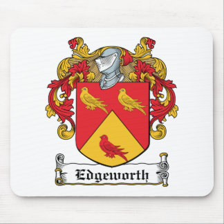 Edgeworth Family Crest Mouse Mat