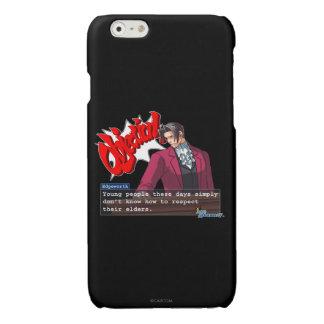 "Edgeworth - ""Respect"" Glossy iPhone 6 Case"