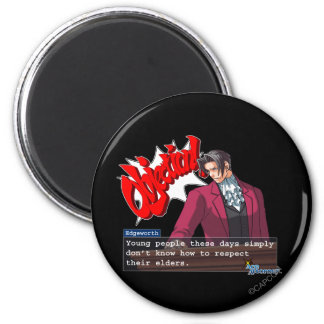 "Edgeworth - ""Respect"" Magnet"