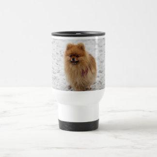 Edgrrrr #2 - Pomeranian Taza De Viaje De Acero Inoxidable