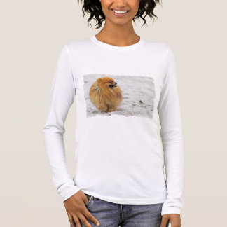 Edgrrrr #3 - Pomeranian Long Sleeve T-Shirt