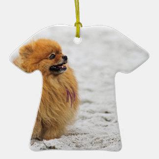 Edgrrrr #3 - Pomeranian Christmas Ornament